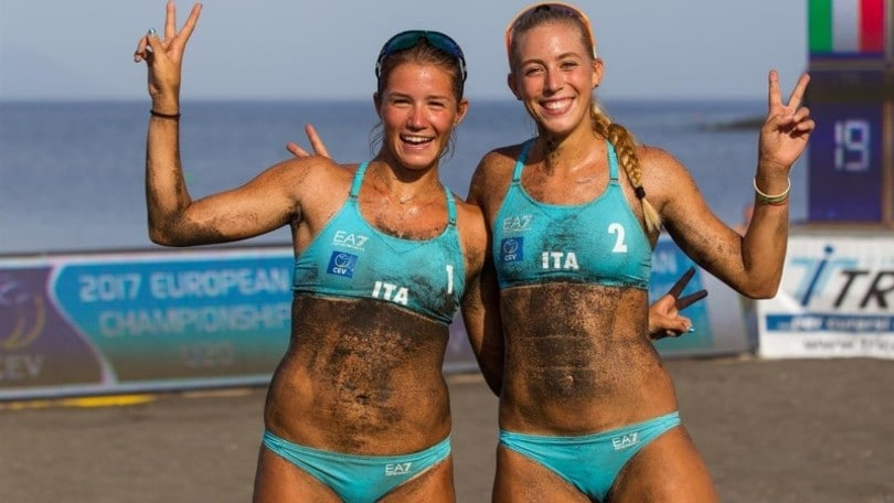 Beach Volley: Europei Under 20, They-Orsi Toth sono d'argento