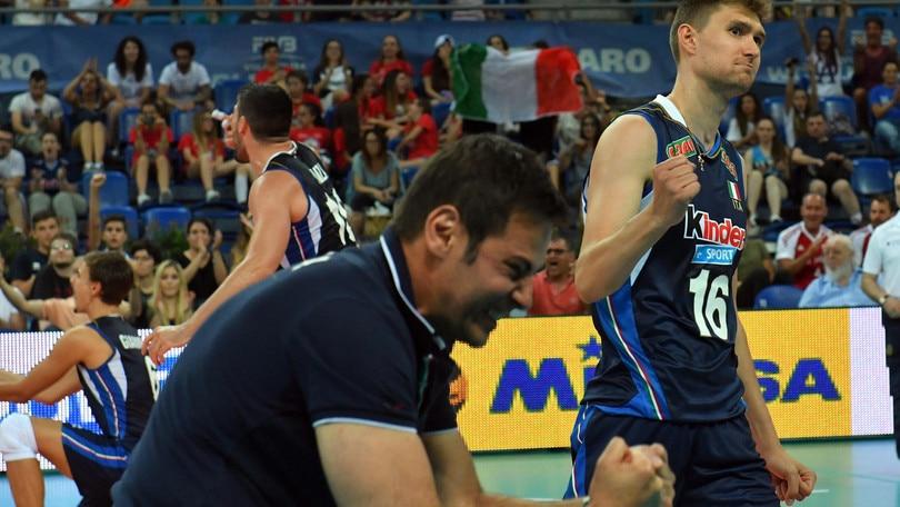 Volley: l'Italia domani all'esordio con l'Iran nella Grand Champions Cup