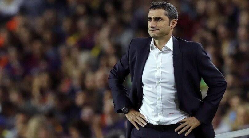 Barcellona, Valverde: «Juventus, quel 3-0 brucia ancora»