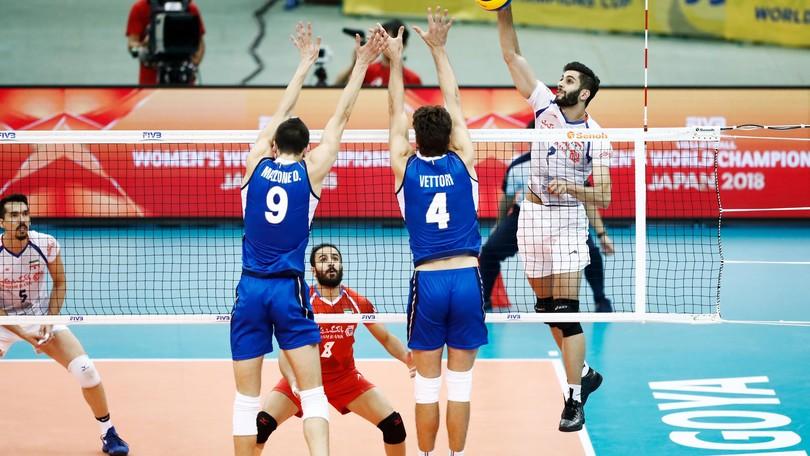 Volley: l'Italia cede all'Iran nell'esordio nella Grand Champions Cup