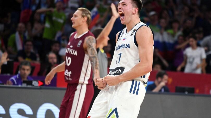 Eurobasket 2017, Doncic e Dragic abbattono la Lettonia