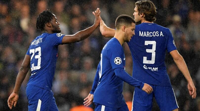 Il Chelsea travolge il Qarabag, show di United, Bayern e Psg