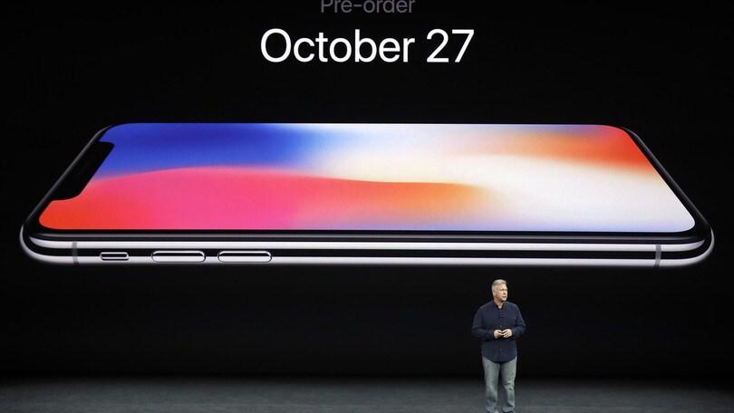 Iphone X, ecco quanto costerà in Italia il nuovo smartphone Apple