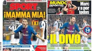 Barcellona-Juventus, la stampa estera s'inchina a Messi: «Mamma mia!»
