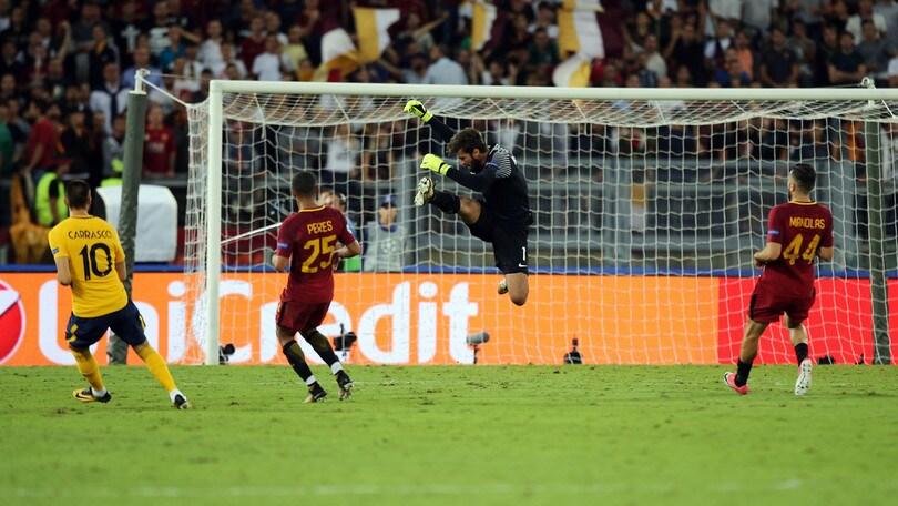 Champions League, la Roma impatta con l'Atletico: ottavi a 2,50