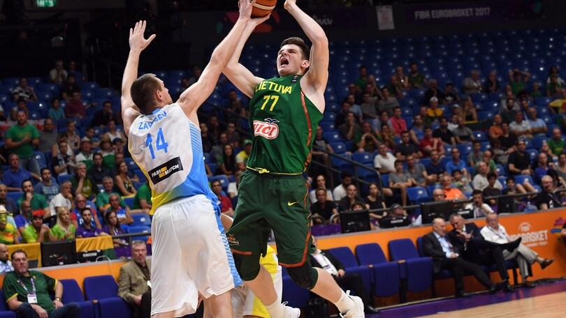 Basket Serie A, Milano piazza il colpo Gudaitis