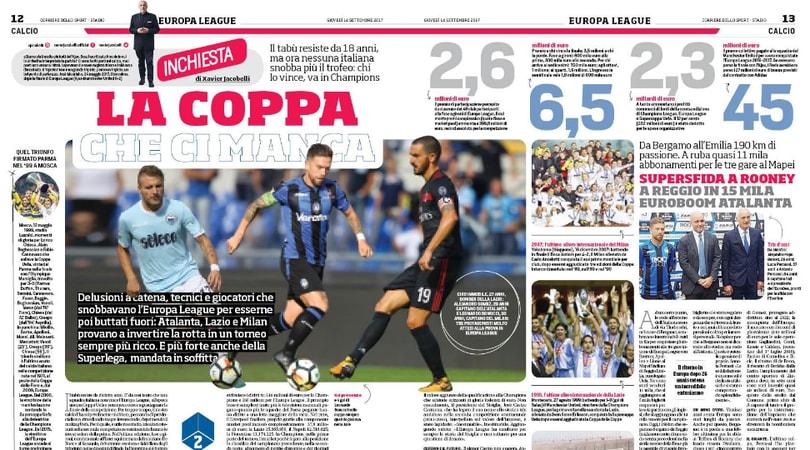 Europa League, la Coppa che ci manca