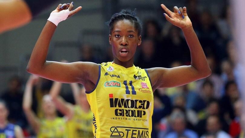 Volley: A1 Femminile, Megan Easy è di nuovo a Conegliano
