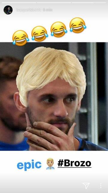 <p>La nuova acconciatura del capitano dell&#39;Inter sollecita i meme sui social, anche dei suoi compagni di squadra: Perisic coinvolge Brozovic che dallo sguardo sembra non apprezzare il cambio di colore dell&#39;argentino</p>