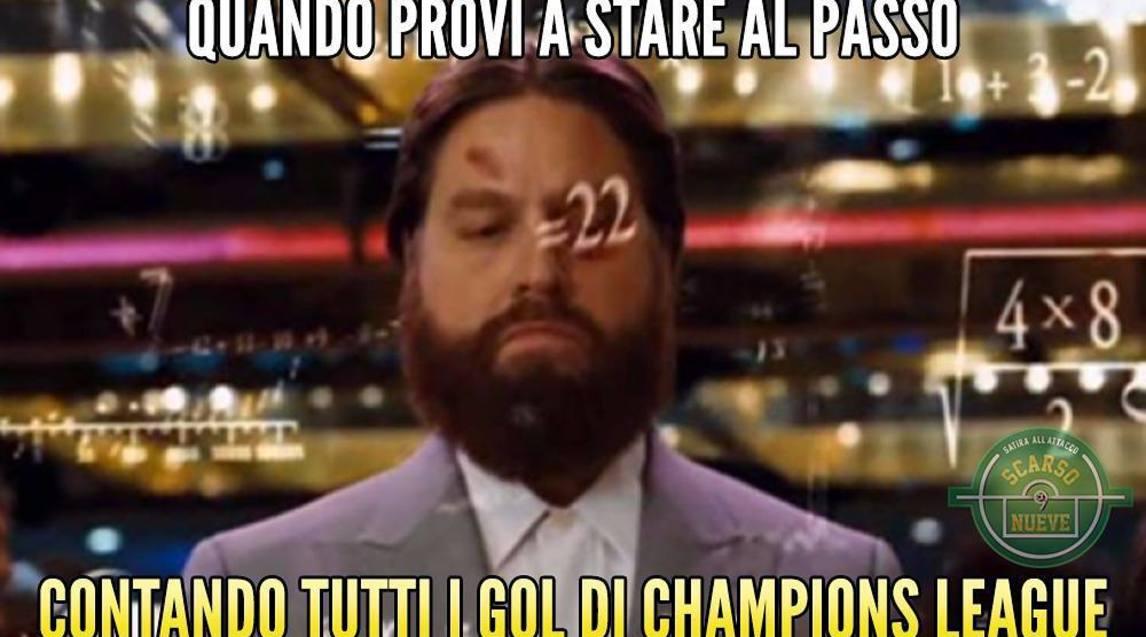 <p>Tante le ironie spuntate sui social network dopo il ko della squadra di Sarri nella prima giornata di Champions</p>