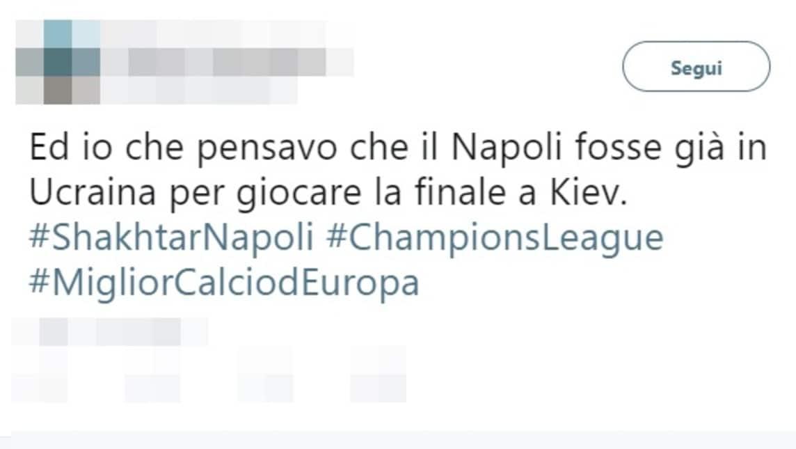 <p>I tifosi del Napoli arrabbiati dopo la sconfitta nella prima gara di Champions in Ucraina</p>