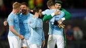 Champions League, poker del Manchester City, pari fra Liverpool e Siviglia. Real Madrid ok