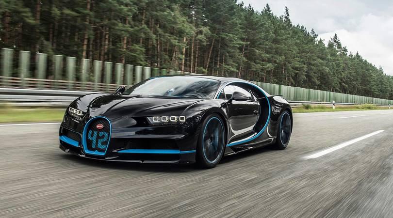 Bugatti Chiron da record: 0-400 km/h in soli 42 secondi