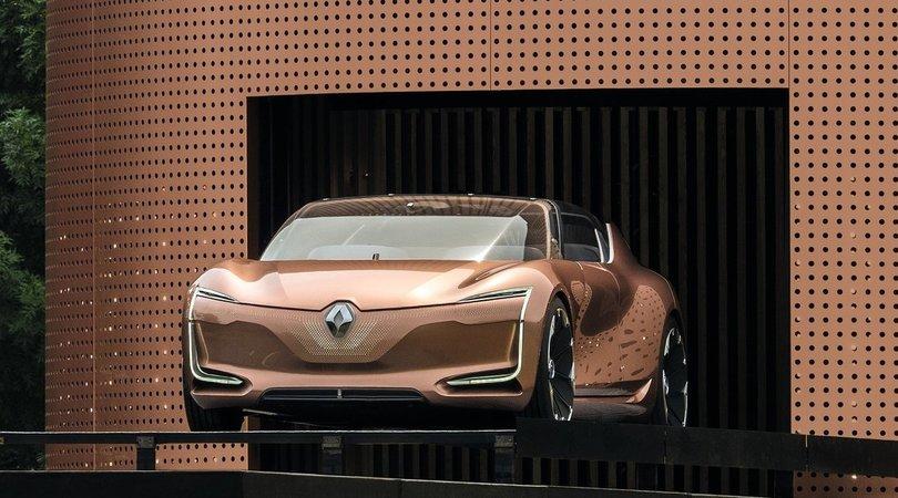 Renault Symbioz concept, l'auto si integra con la casa