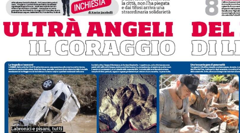 Ultrà angeli del fango: il coraggio di Livorno