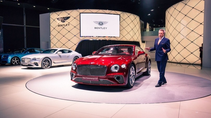 Bentley, la Continental GT debutta a Francoforte