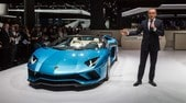 Lamborghini Aventador S Roadster, furia scoperta