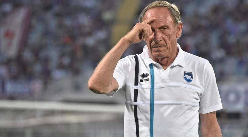 Serie B Pescara, Zeman: «Favorito il Napoli contro la Roma»