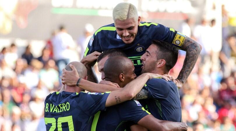 Serie A Crotone-Inter 0-2, il tabellino