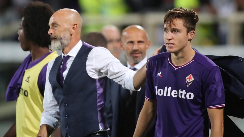 Fiorentina, Pioli: «Siamo molto ambiziosi. Chiesa? Crescerà ancora»