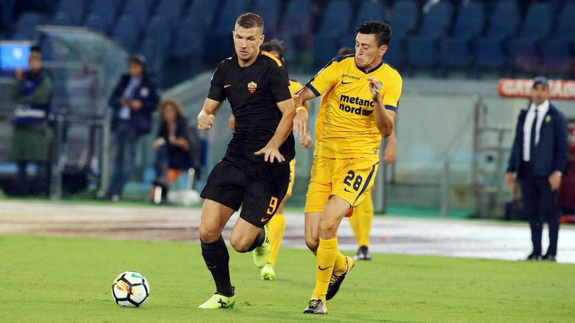 Serie A Roma-Verona 3-0, il tabellino