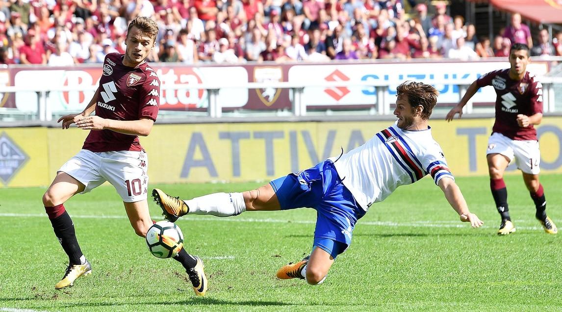 Serie A Torino-Sampdoria 2-2: il tabellino