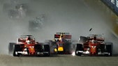 F1, Gp Singapore: nessuna sanzione per incidente al via