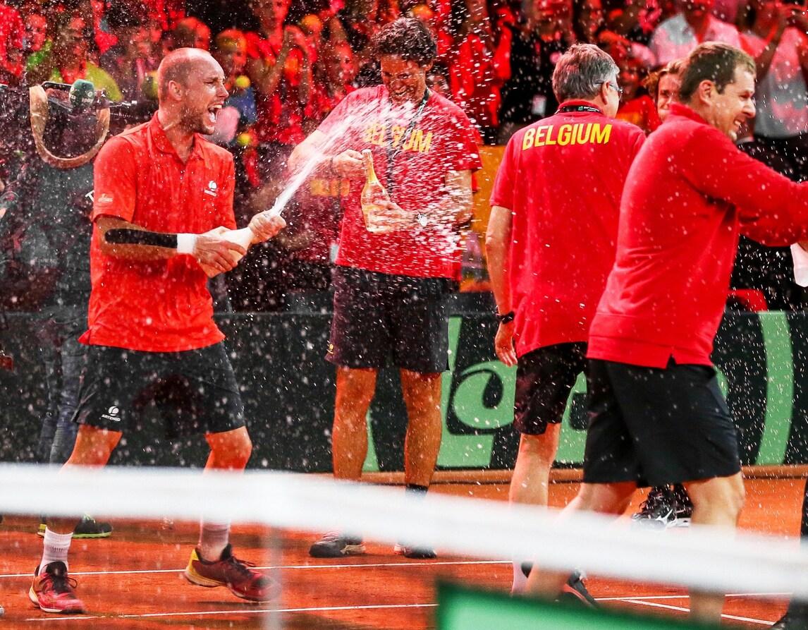 Tennis, Coppa Davis: la finale sarà Francia-Belgio