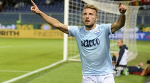 Genoa-Lazio 2-3, doppietta di Pellegri e Immobile