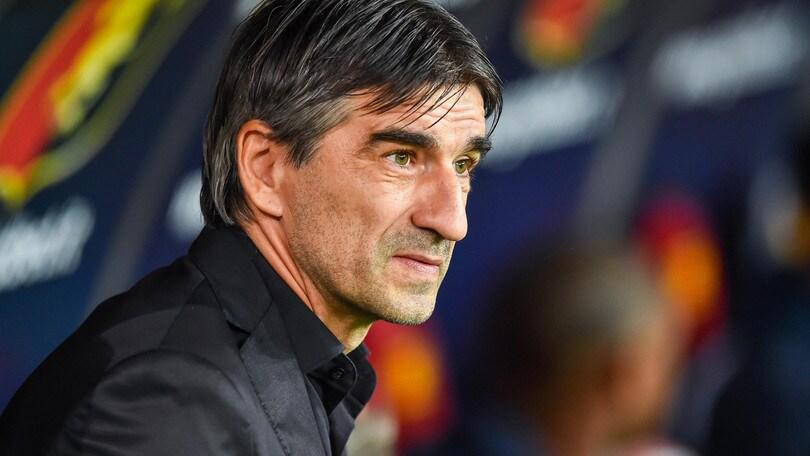 Serie A Genoa, Juric: «Buon pari, ma potevamo battere il Milan»