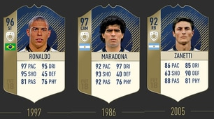 """Fifa 18, ecco le icone: quanti """"italiani"""" tra le leggende!"""