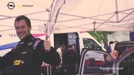 Opel al Rally di Roma, i piloti si preparano