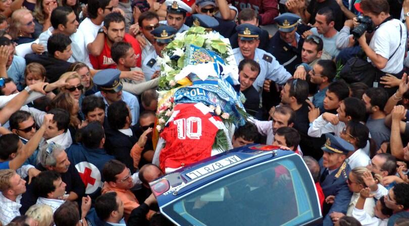 Sergio Ercolano, Avellino-Napoli e una tragedia senza luce