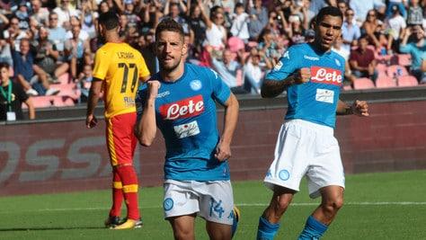 Serie A: Lazio-Napoli, azzurri avanti a quota 2,00