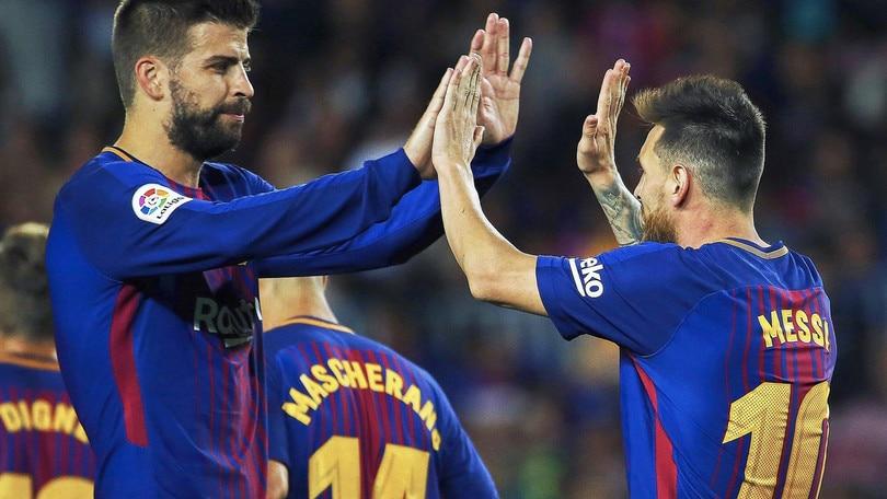 Messi, poker strepitoso: Barcellona-Eibar 6-1
