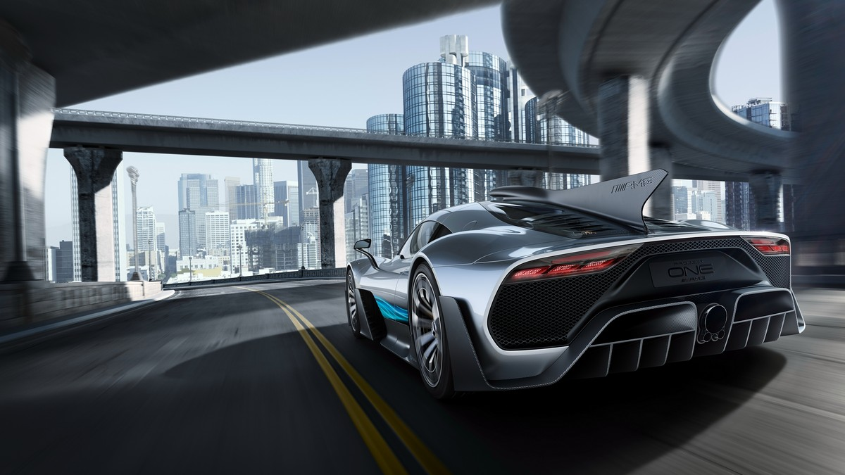 Mercedes AMG Project One, la Formula 1 travestita