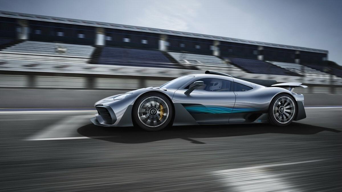 Mercedes AMG Project One, la Formula 1 travestita