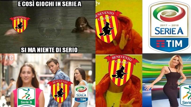 Benevento, social scatenati: «Perderebbe anche con... il Benevento»