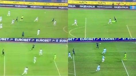 """Napoli, """"Ciro"""" Mertens alla Maradona: che gol alla Lazio!"""