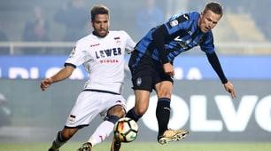 Atalanta-Crotone 5-1, il gol di Ilicic è una perla