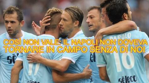 Il Napoli travolge la Lazio all'Olimpico: web senza pietà