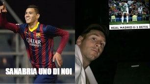 Sanabria eroe del web: quante ironie sul ko del Real Madrid!