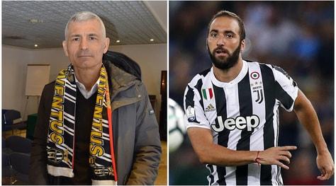 Ravanelli in tackle su Higuain:«Un peso per la Juventus»