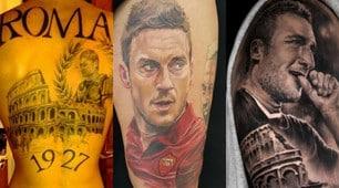 Roma, i 15 tatuaggi più belli dedicati a Francesco Totti