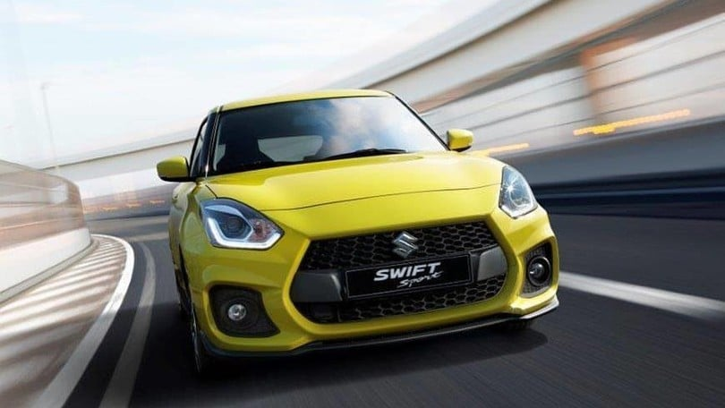 Suzuki Swift Sport, Mini Cooper nel mirino