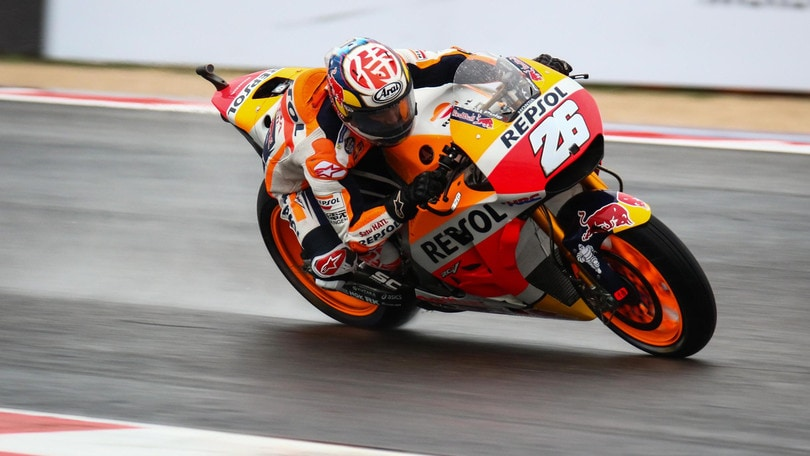 MotoGp, Aragon: Pedrosa precede Lorenzo, Rossi 20°