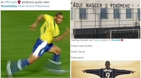 La 'gaffe' di Twitter non rovina la festa al 'Fenomeno': «Auguri Ronaldo!»