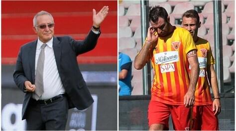 Benevento, Vigorito difende Lucioni:«Una pomata non può essere doping»