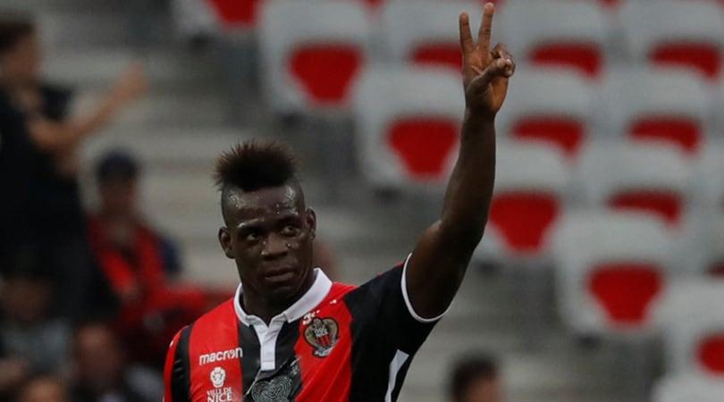 Ligue 1, Nizza-Angers 2-2 e Lille-Monaco 0-4: in gol Balotelli e Jovetic