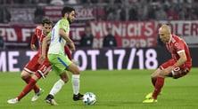 Bundesliga, Bayern Monaco-Wolfsburg 2-2: i bavaresi di Ancelotti rimontati
